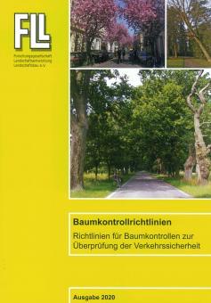 Broschüre: Baumkontrollrichtlinien, Ausgabe 2020 (FLL)