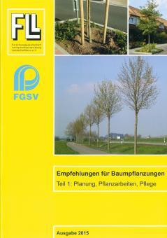 Broschüre: Empfehlungen für Baumpflanzungen Teil 1, Ausgabe 2015 (FLL)