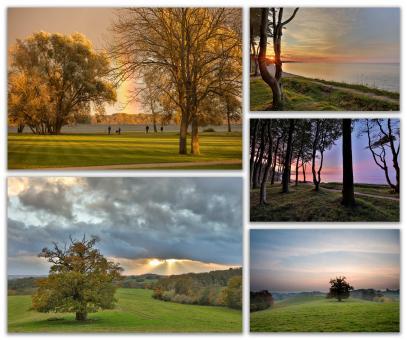 Postkarten-Set: Magische Landschaften